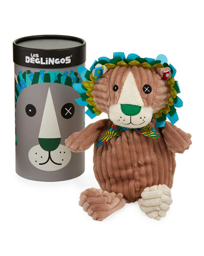 Simply Jelekros the Lion Stuffed Toy