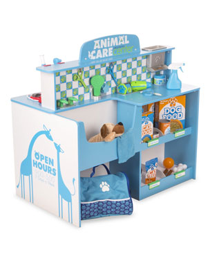 698356a35fd Melissa   Doug Kids  Pet Center Play Veterinarian Set