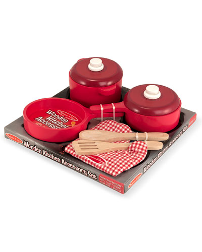 Play Kitchen Accessory Set