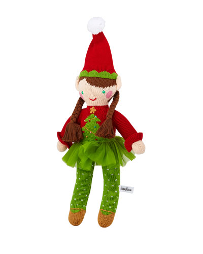 Christmas Tree Girl Elf Doll  14