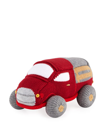 Antique Truck Knit Toy  8