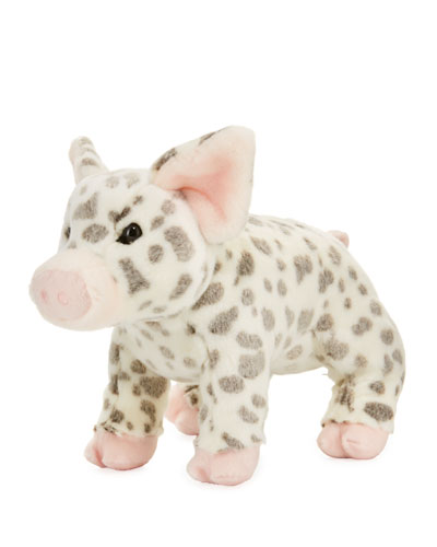Pauline Spotted Pig Plush Toy, 12