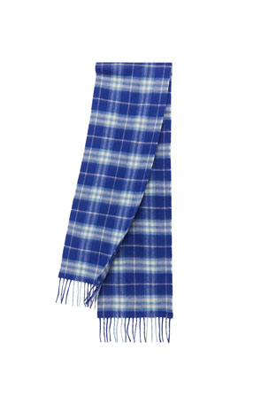 Burberry Kids' Cashmere Vintage Check Scarf