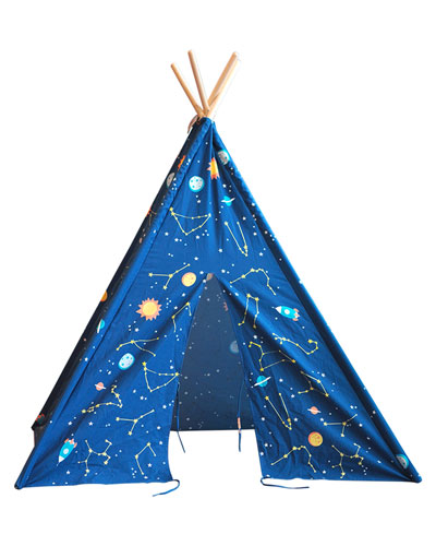 Kids' Starry Sky Play Teepee