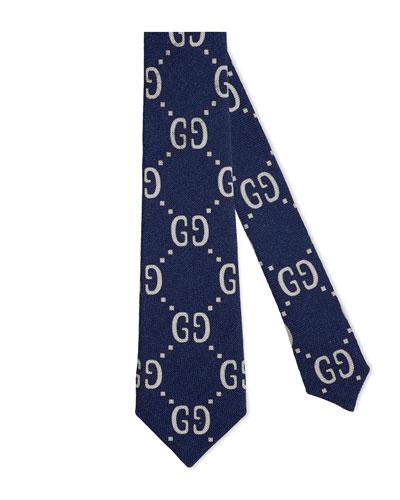 Kids' Interlocking G Tie