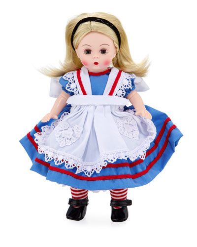 8 Alice In Wonderland Collectible Doll