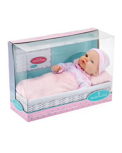 16 Newborn Baby Doll  Pink Cloud