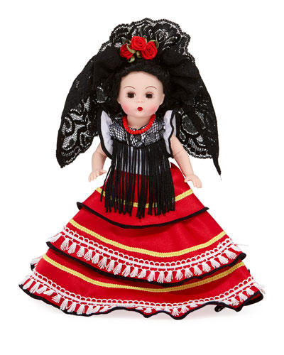 8 Spanish Princesa Collectible Doll