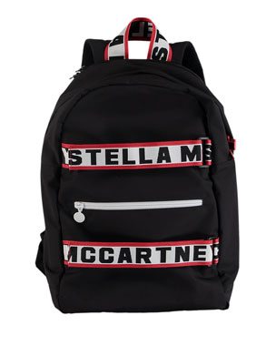 ec7624f97816b Stella McCartney Kids Kids  Logo Backpack