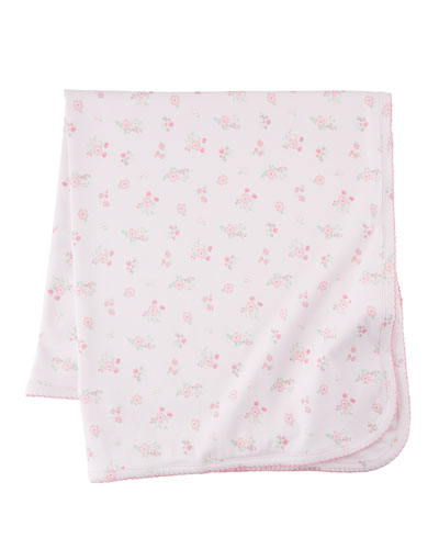 Summer Cheer Pima Baby Blanket