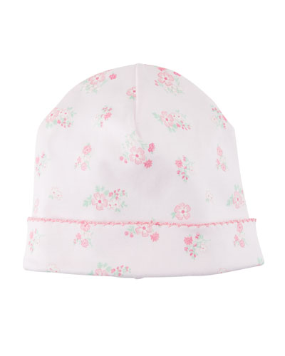 Summer Cheer Printed Pima Baby Hat