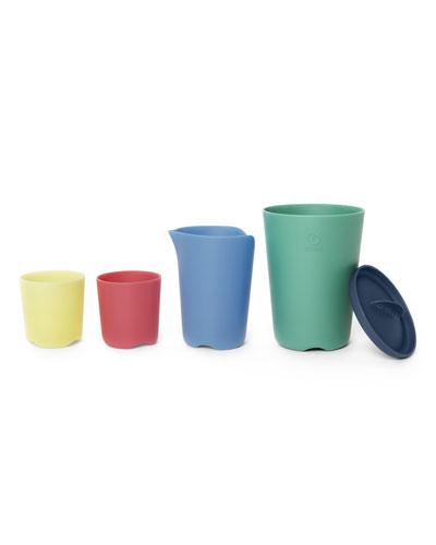 Flexi Bath Toy Multicolored Cups