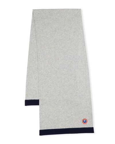 Kids' Two-Tone Cashmere Scarf
