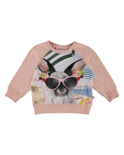 Elsa Bunny in Sunglasses Graphic Top, Size 3-24 Months