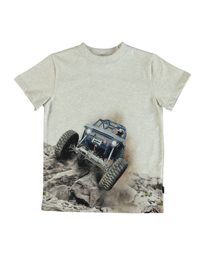 Road Dinosaur & Robots Graphic Tee, Size 2-10
