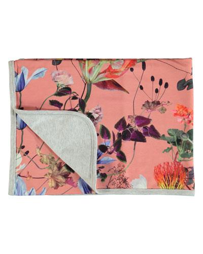 Neala Floral Baby Blanket
