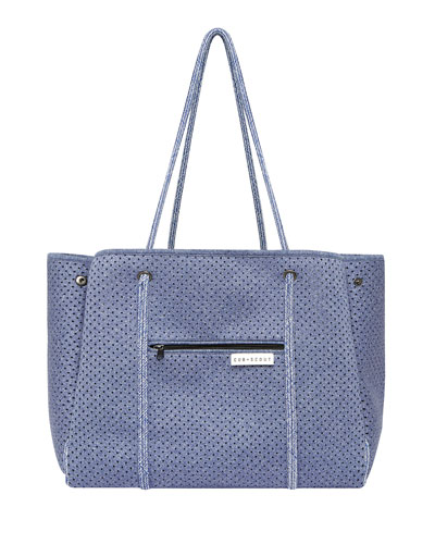 The Leader Carryall Diaper Bag, Blue
