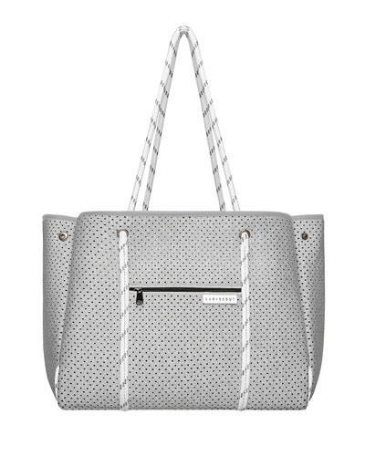 The Leader Carryall Diaper Bag, Gray