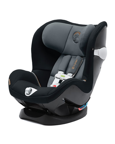Sirona M SensorSafe Car Seat with Driver Alert  Pepper Black