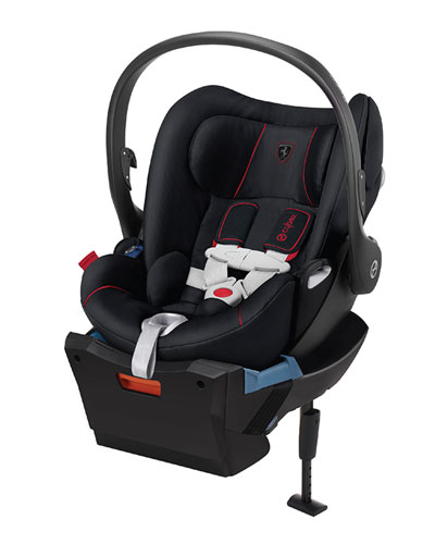 Cloud Q Ferrari Car Seat  Black