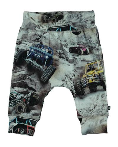 Sammy Robot Print Jogger Pants  Size 3-24 Months
