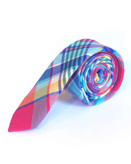 Appaman Ties BOYS' PLAID TIE