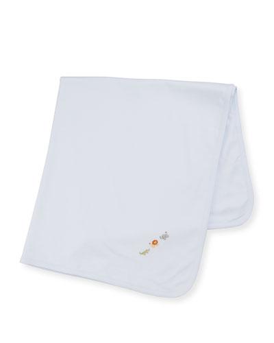SCE Animal Crackers Pima Baby Blanket