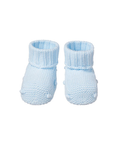 Baby's Knit Booties