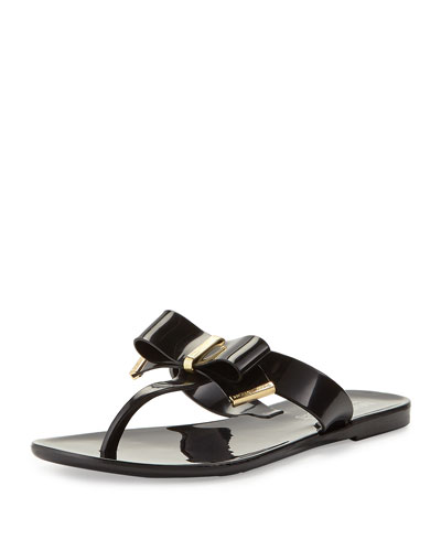 Kayden Jelly Thong Sandals, Youth
