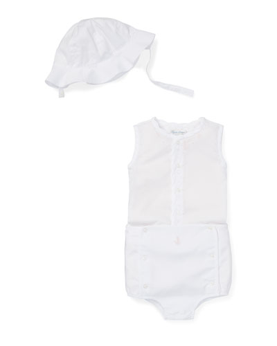 Three-Piece Outfit Sun Set, Size 6-24 Months