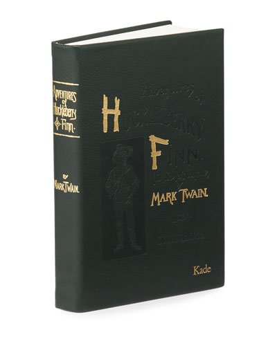 Adventures of Huckleberry Fin Book By Mark Twain  Personalized