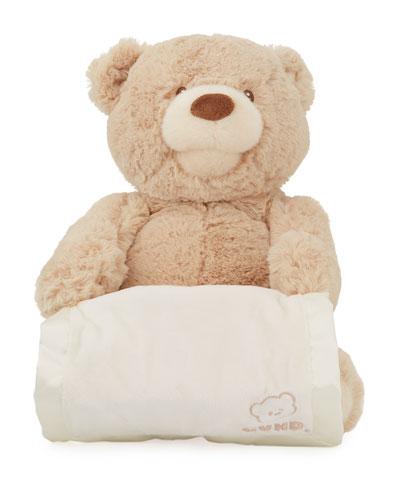 Peek-A-Boo Plush Bear