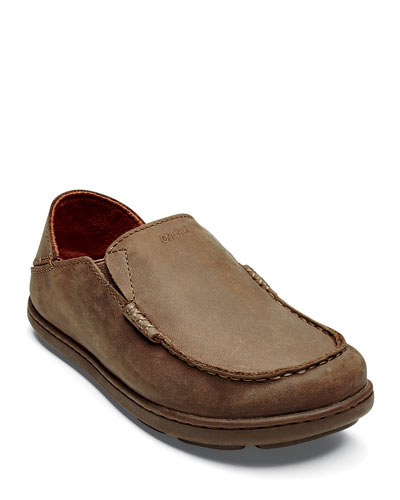 Boys' Moloa Leather Slipper  Kids