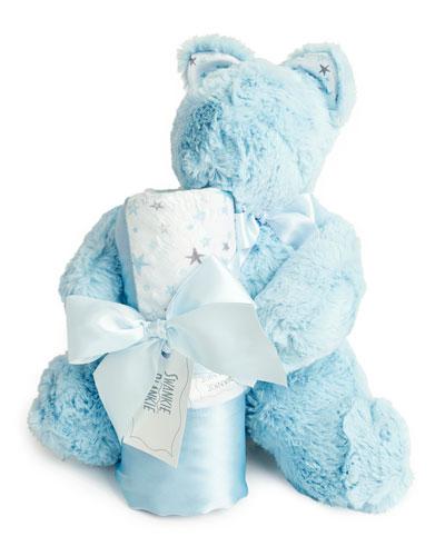 Sweet Dreams Bear & Blanket Gift Set