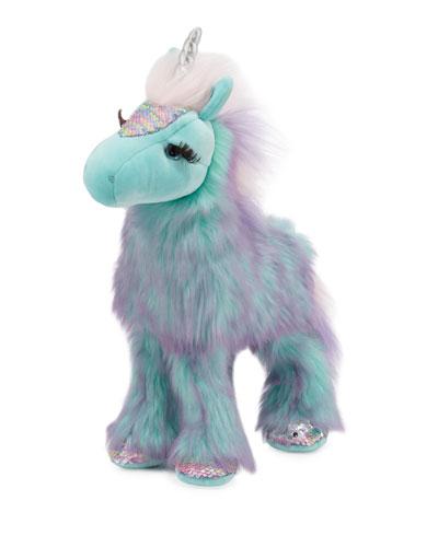 Veda the Unicorn Fuzzle Stuffed Animal