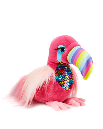 Vivian the Pink Toucan Fuzzle Stuffed Animal