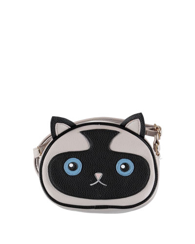 Girls' Siamese Kitty Cat Crossbody Bag