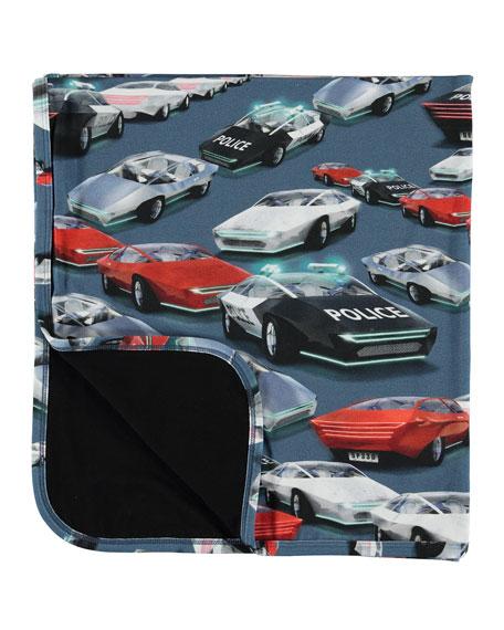 Molo Niles Cars Print Baby Blanket
