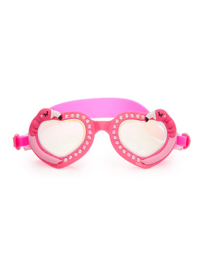 Kids' Flock of Fab Flamingo Swim Goggles