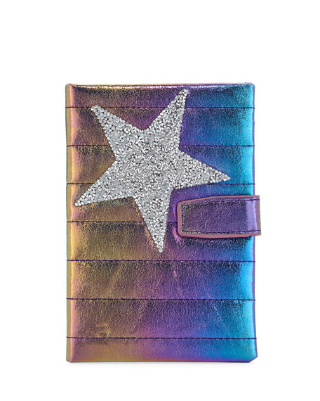 Bari Lynn Girls' Galaxy Crystal Star Notebook