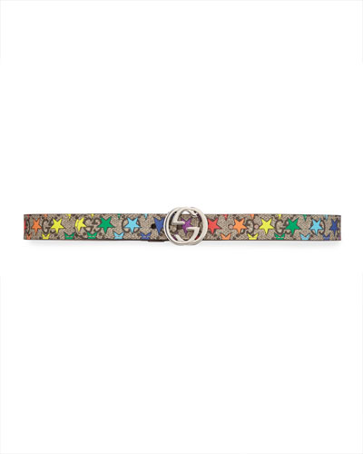 Girls' Rainbow Star GG Supreme Belt