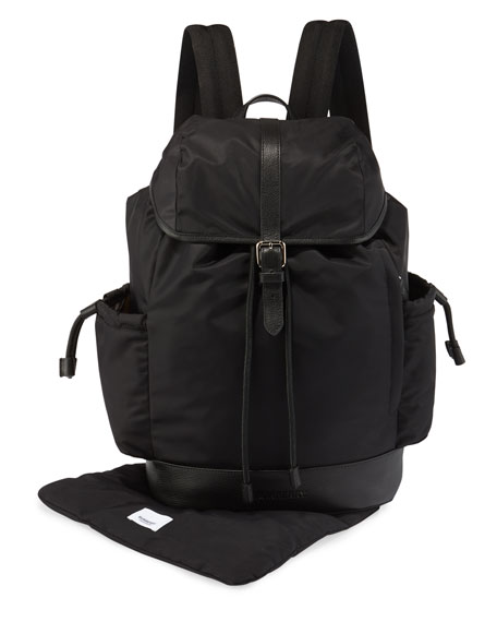 Burberry Watson Nylon Backpack Diaper Bag