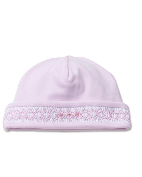 Kissy Kissy CLB Fall Smocked Pima Baby Hat