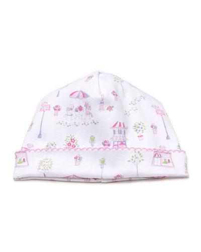 Girls' Parisian Promenade Hat, Newborn - Small