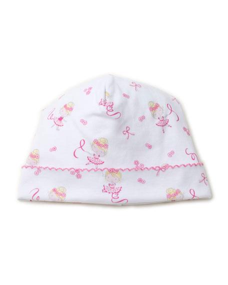 Kissy Kissy Twirly Toes Printed Pima Baby Hat