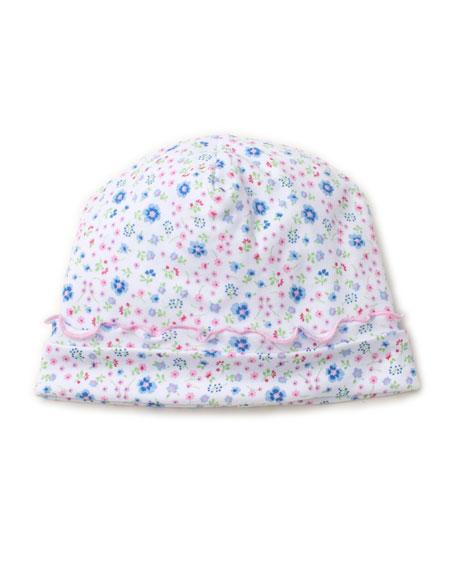 Kissy Kissy Garden Treasure Ruffle-Trim Baby Hat