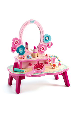 Djeco Flora Dressing Table Role Play Set