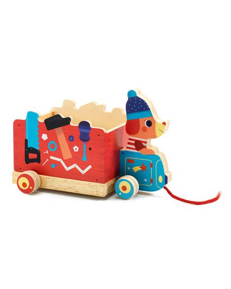 Djeco Push and Pull Jo Truck