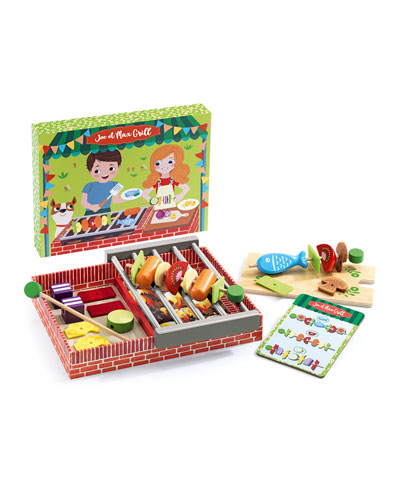 Joe & Max Grill Role Play Set