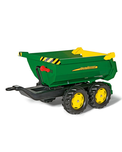 John Deere Half Pipe Trailer Toy